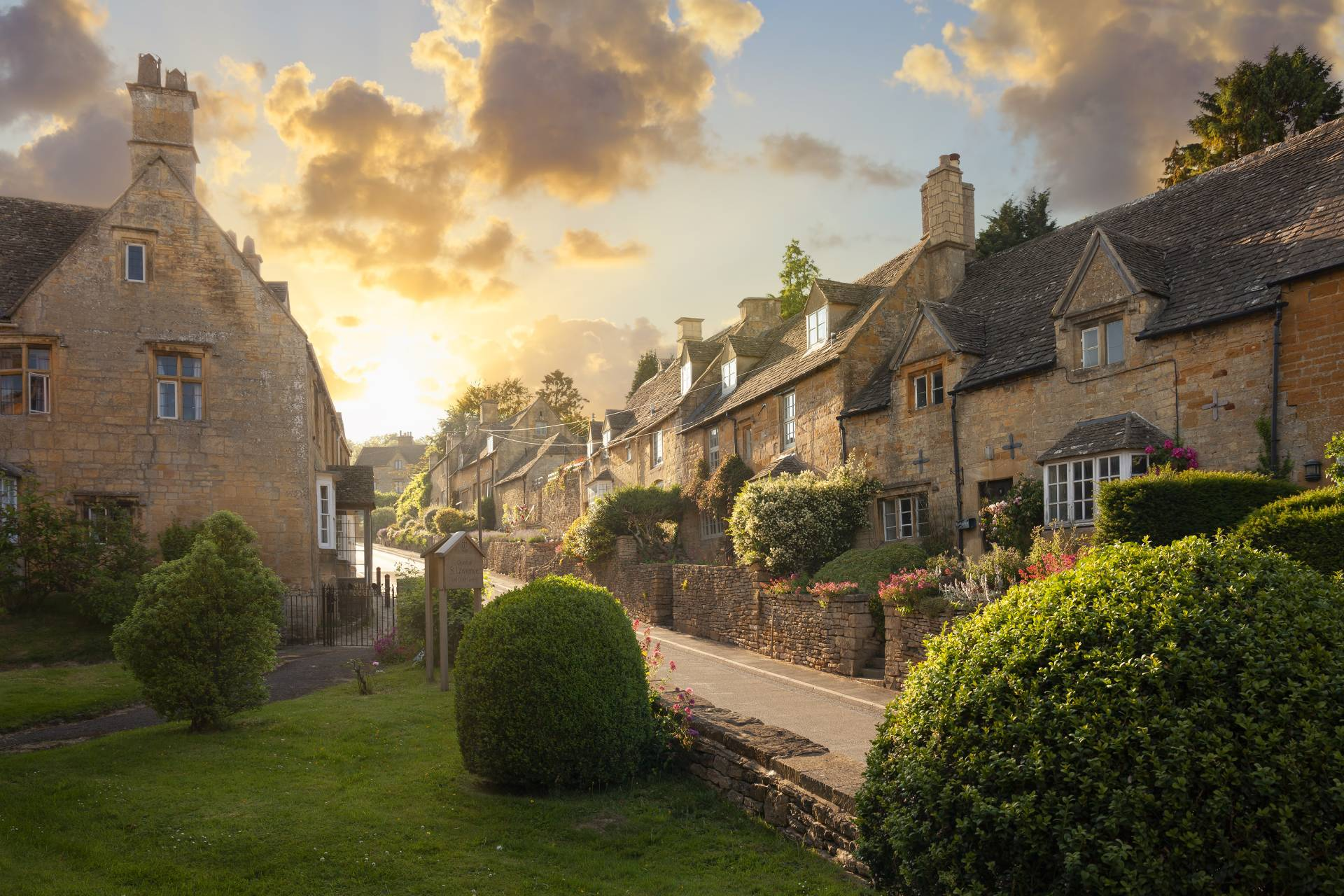 Lovely village setting in the Cotswolds