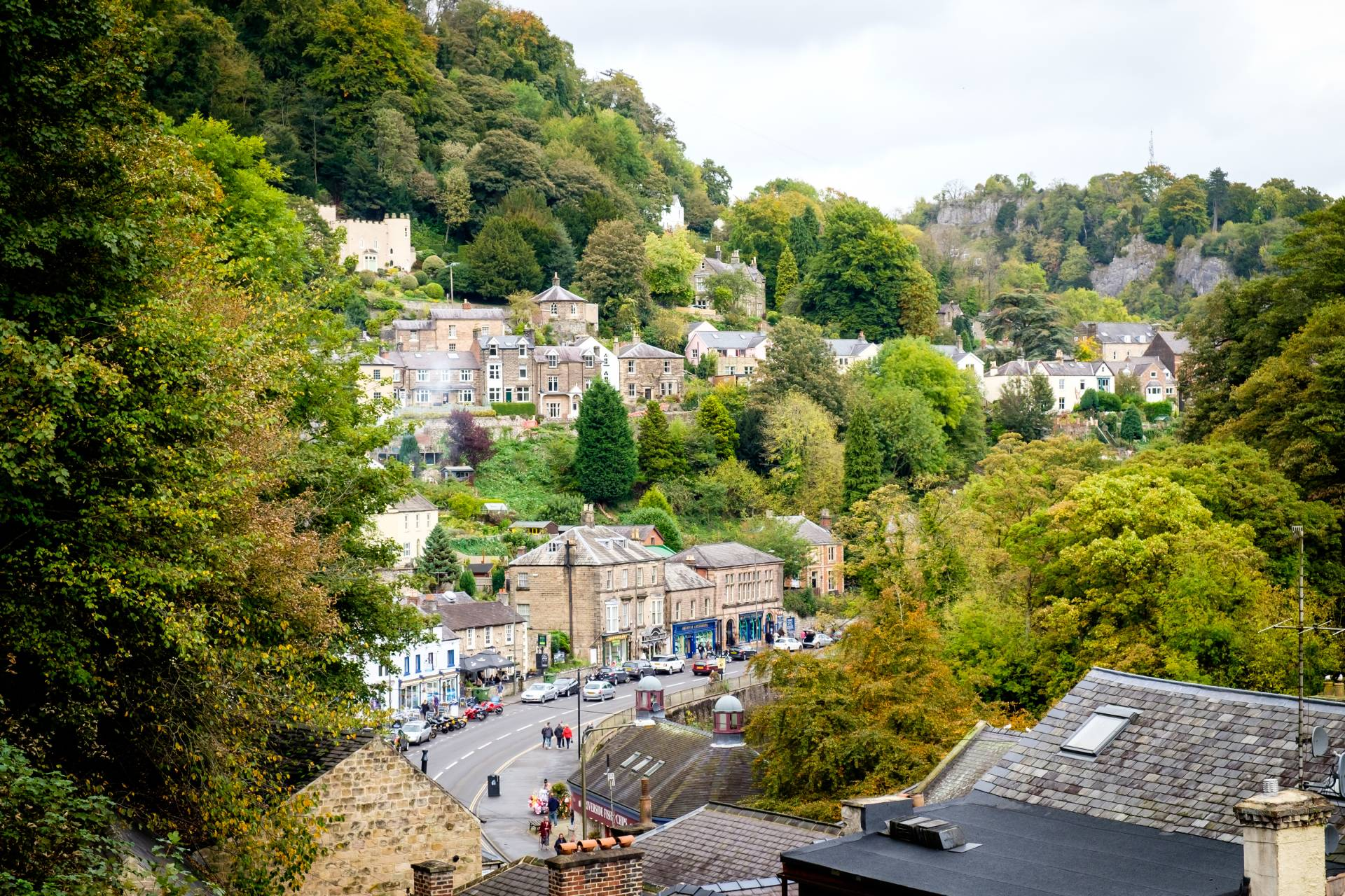 Matlock Bath on the fringes of the Peak District